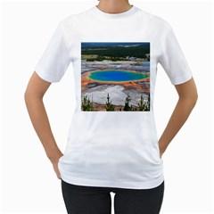 GRAND PRISMATIC Women s T-Shirt (White)