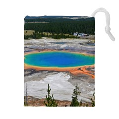 GRAND PRISMATIC Drawstring Pouches (Extra Large)