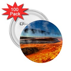 FIRE RIVER 2.25  Buttons (100 pack)