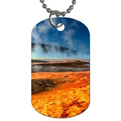 Fire River Dog Tag (one Side)