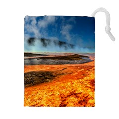 Fire River Drawstring Pouches (extra Large)
