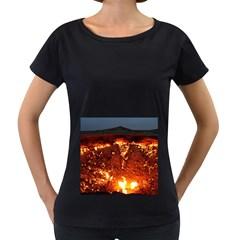 Door To Hell Women s Loose Fit T Shirt (black)