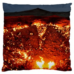 Door To Hell Large Cushion Cases (two Sides)