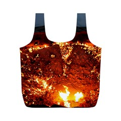 DOOR TO HELL Full Print Recycle Bags (M)