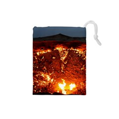 DOOR TO HELL Drawstring Pouches (Small)