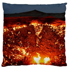 DOOR TO HELL Standard Flano Cushion Cases (One Side)