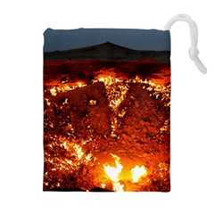 Door To Hell Drawstring Pouches (extra Large)