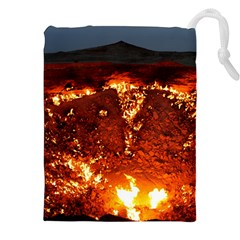 DOOR TO HELL Drawstring Pouches (XXL)