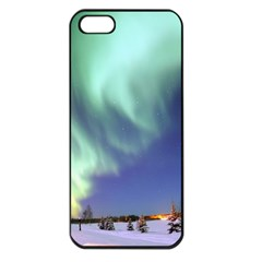 AURORA BOREALIS Apple iPhone 5 Seamless Case (Black)