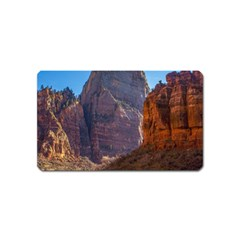 ZION NATIONAL PARK Magnet (Name Card)