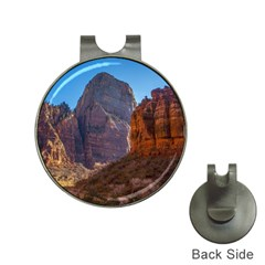 ZION NATIONAL PARK Hat Clips with Golf Markers