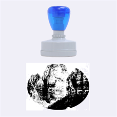 ZION NATIONAL PARK Rubber Oval Stamps