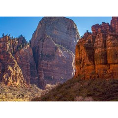 ZION NATIONAL PARK Birthday Cake 3D Greeting Card (7x5)