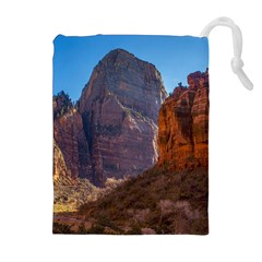 Zion National Park Drawstring Pouches (extra Large)