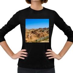 ZHANGYE DANXIA Women s Long Sleeve Dark T-Shirts