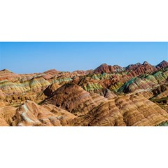 Zhangye Danxia You Are Invited 3d Greeting Card (8x4)