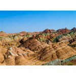 ZHANGYE DANXIA YOU ARE INVITED 3D Greeting Card (7x5)  Back