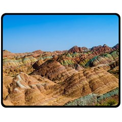 ZHANGYE DANXIA Double Sided Fleece Blanket (Medium)