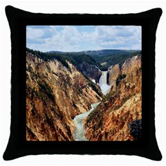 YELLOWSTONE GC Throw Pillow Cases (Black)