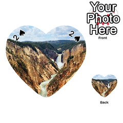 YELLOWSTONE GC Playing Cards 54 (Heart)