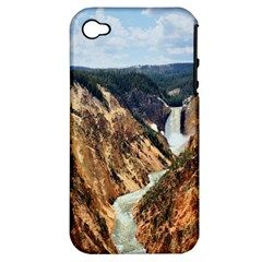 YELLOWSTONE GC Apple iPhone 4/4S Hardshell Case (PC+Silicone)