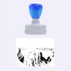 UPSALA GLACIER Rubber Oval Stamps