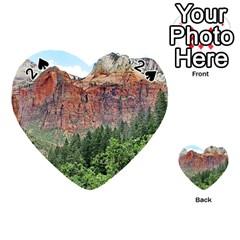 UPPER EMERALD TRAIL Playing Cards 54 (Heart)