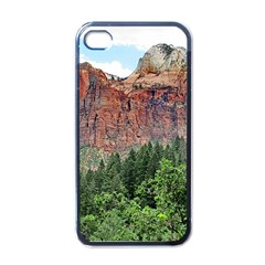 UPPER EMERALD TRAIL Apple iPhone 4 Case (Black)