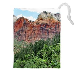 UPPER EMERALD TRAIL Drawstring Pouches (XXL)