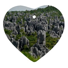 STONE FOREST 1 Ornament (Heart)