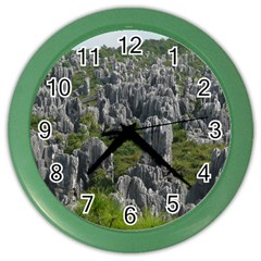 STONE FOREST 1 Color Wall Clocks