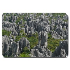 STONE FOREST 1 Large Doormat