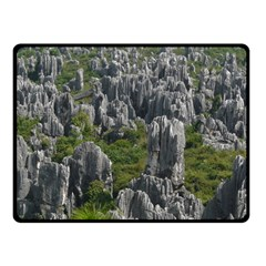 Stone Forest 1 Fleece Blanket (small)