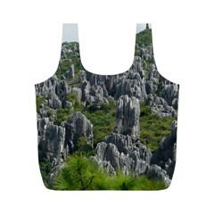 STONE FOREST 1 Full Print Recycle Bags (M)