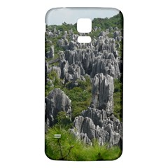 STONE FOREST 1 Samsung Galaxy S5 Back Case (White)