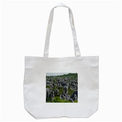 STONE FOREST 1 Tote Bag (White)