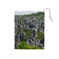 Stone Forest 1 Drawstring Pouches (medium)
