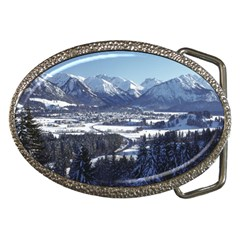 SNOWY MOUNTAINS Belt Buckles