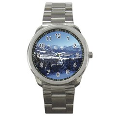 SNOWY MOUNTAINS Sport Metal Watches