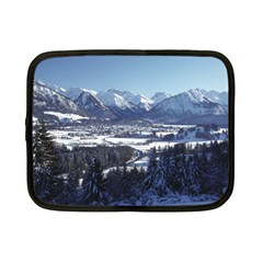 SNOWY MOUNTAINS Netbook Case (Small)