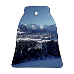 SNOWY MOUNTAINS Ornament (Bell)