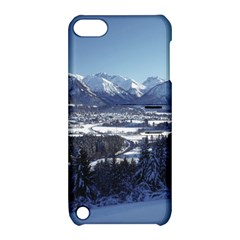 SNOWY MOUNTAINS Apple iPod Touch 5 Hardshell Case with Stand