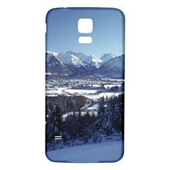 SNOWY MOUNTAINS Samsung Galaxy S5 Back Case (White)