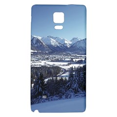 SNOWY MOUNTAINS Galaxy Note 4 Back Case