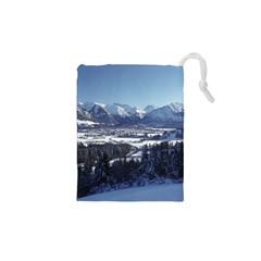 SNOWY MOUNTAINS Drawstring Pouches (XS)