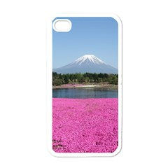 SHIBAZAKURA Apple iPhone 4 Case (White)