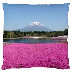 SHIBAZAKURA Large Flano Cushion Cases (One Side)