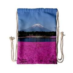 Shibazakura Drawstring Bag (small)
