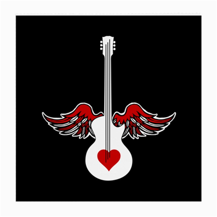 Flying Heart Guitar Medium Glasses Cloth (2 Sides)