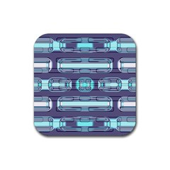 Modern Pattern Factory 01 Rubber Coaster (Square)
